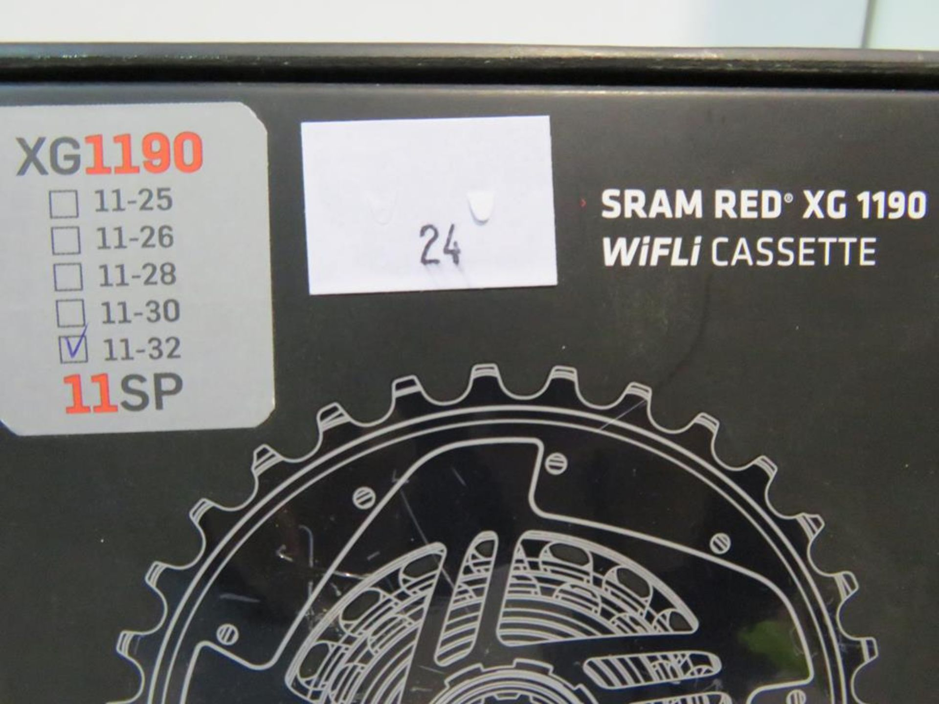 Lot 24 - Sram Red XG 1190 11-32 11SP WiFLi Cassette