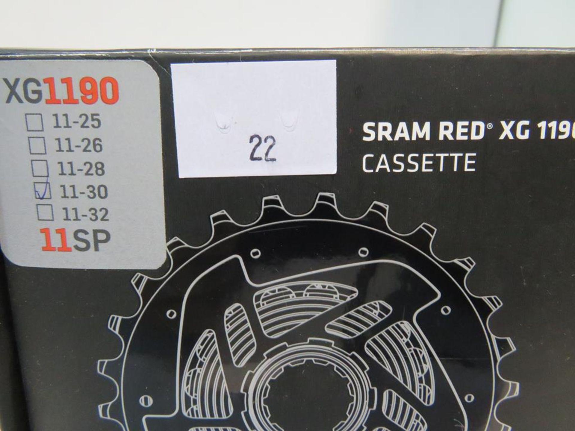 Lot 22 - Sram Red XG1190 11-30 11SP Cassette