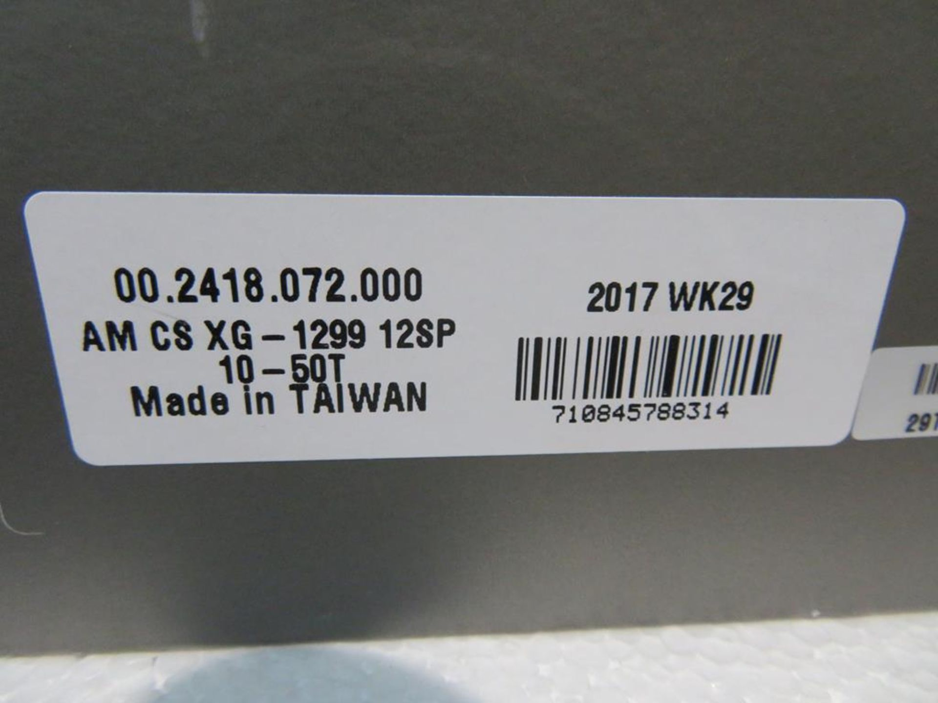 Lot 28 - Sram XX1 12-Speed Eagle Cassette