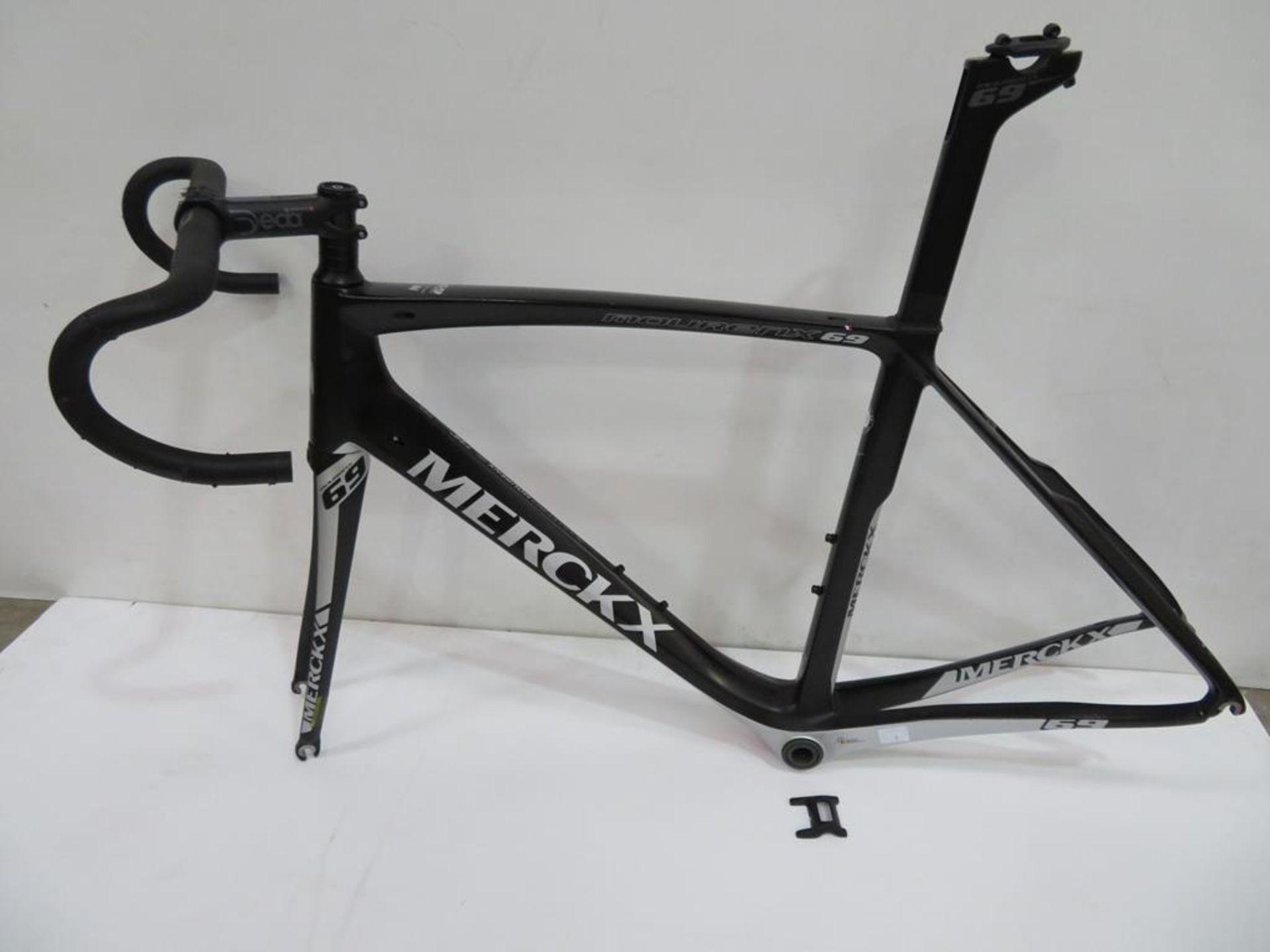 Lot 3 - Eddy Merckx Mourenx 69 Carbon Bike Frame