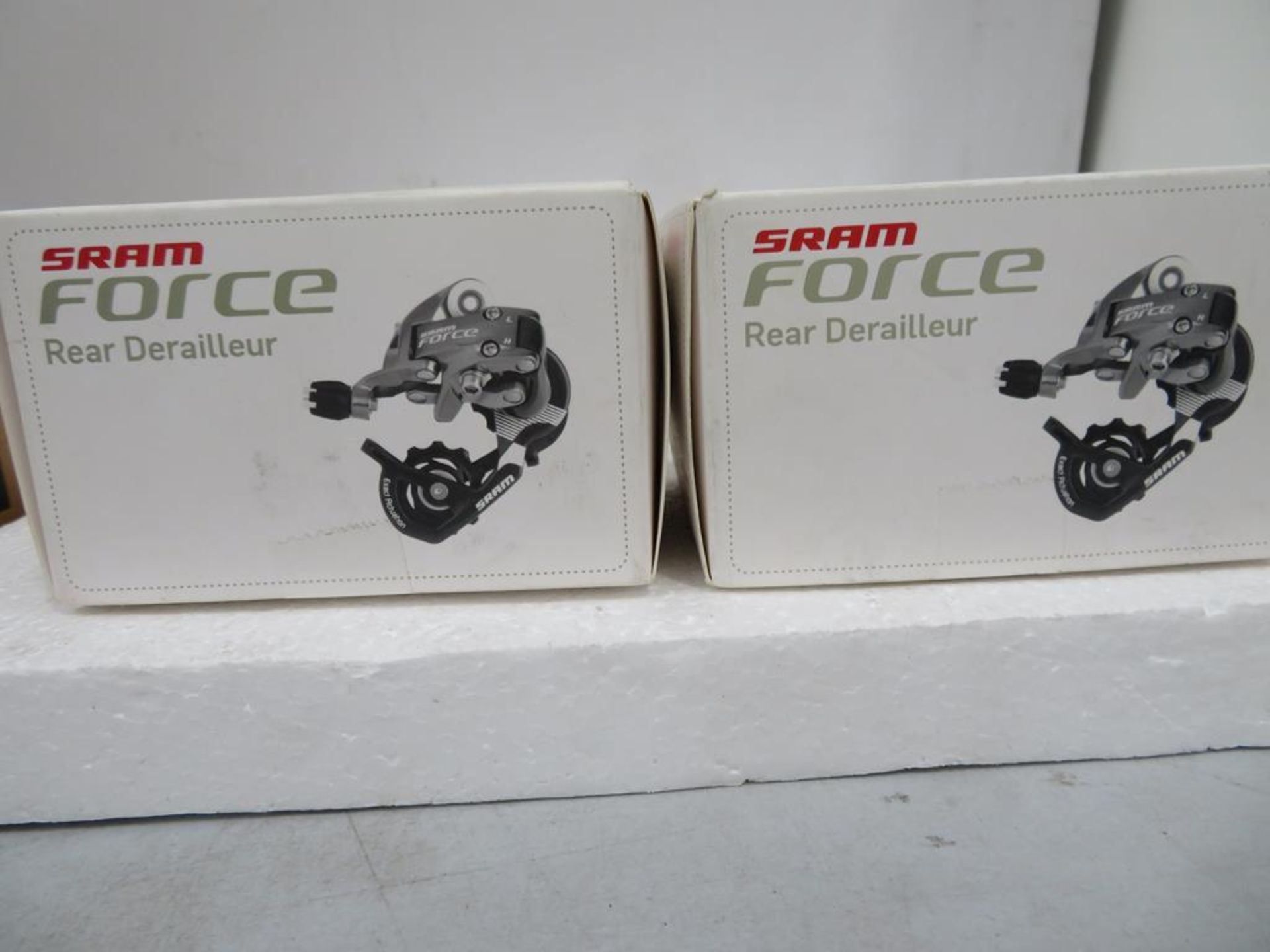 Lot 53 - Two Sram Force Short Cage Rear Derailleurs