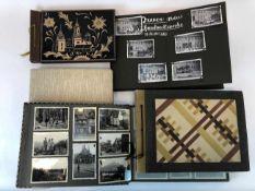 Fünf Fotoalbumen 1930-iger Jahre: 250 Fotos von Gera, Werdau, Kronach, Tiefenort, Leipzig,