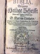 Dr. Martin Luther: Bibel 1546 - dritte conferierte Ausgabe 1670. Balthasar Christoph Wust,