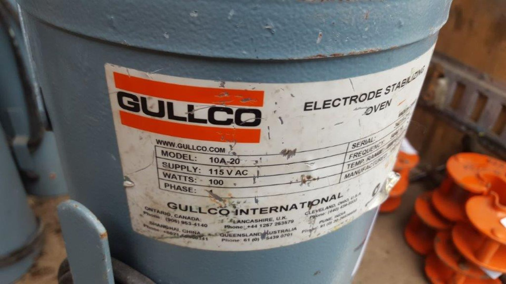 Lot 455 - Gullgo 10a-20 electrode oven