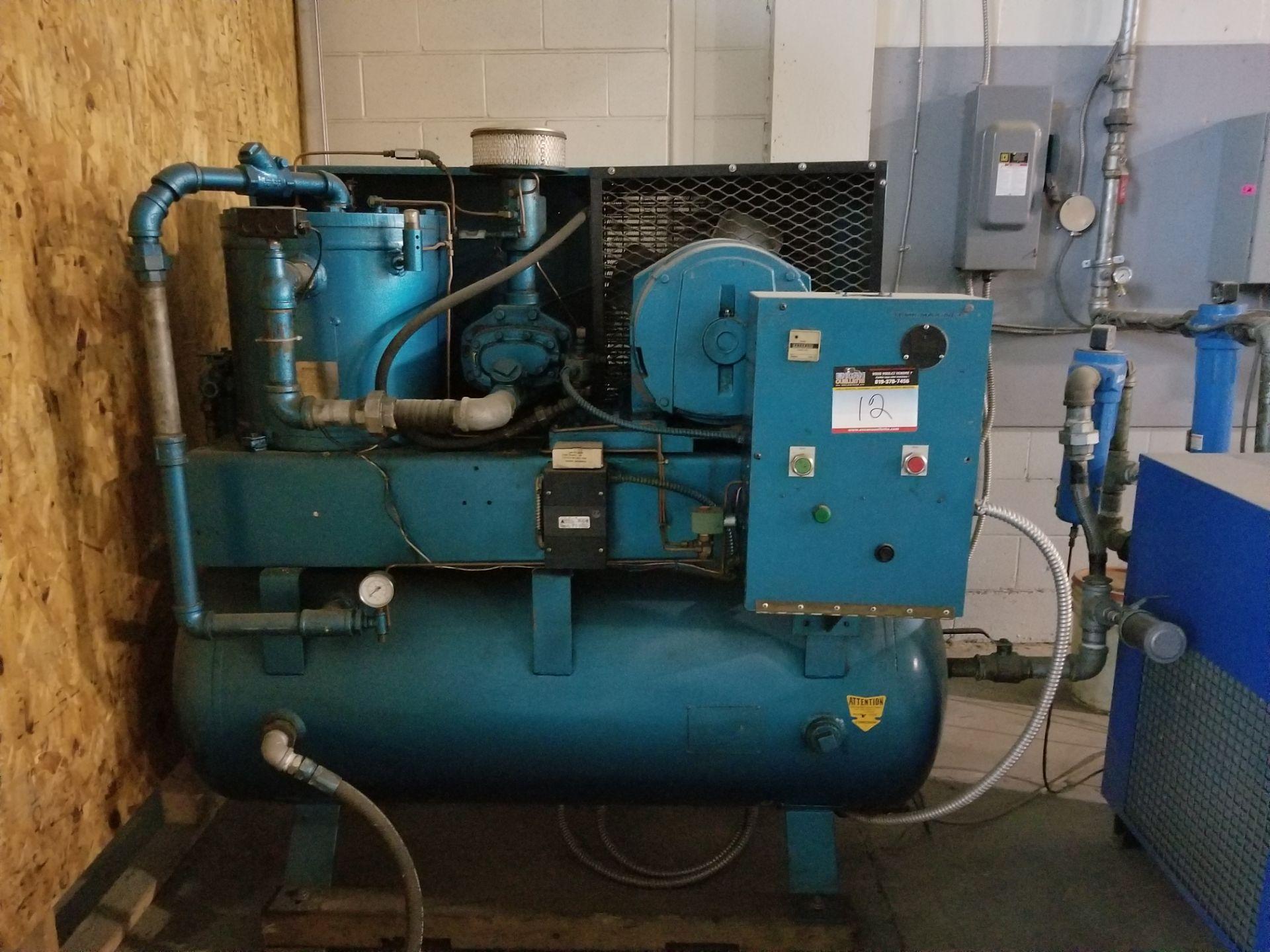 575 volt compressor, dryer, cooler / Compresseur 575 volts, assécheur
