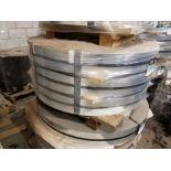 """3x 4"""" wide aluminum rollers / 3 Rouleaux en aluminium de 4 po de large"""
