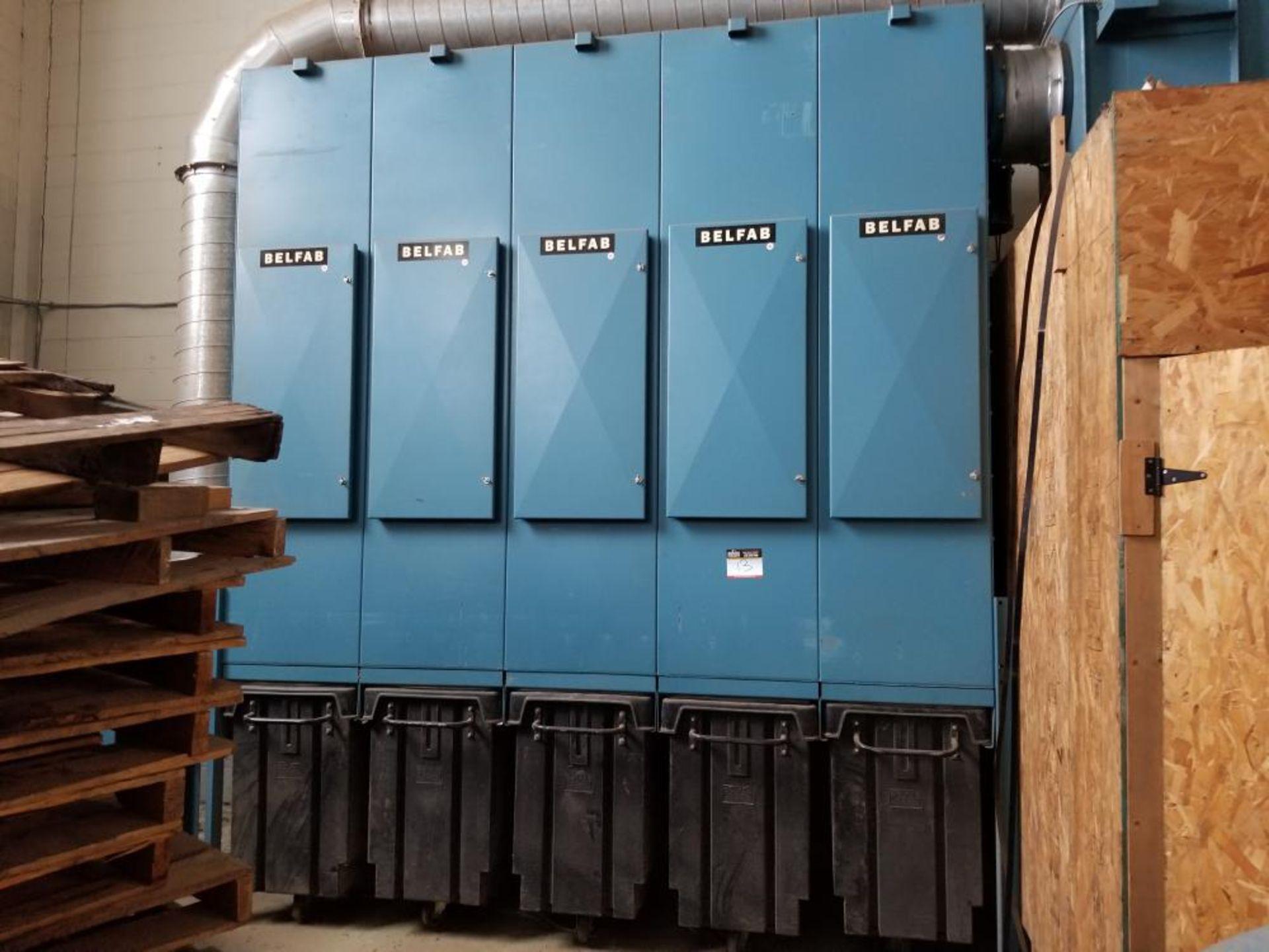 Dust collector BELFAB NBM 550 volts / Dépoussièreur BELFAB NBM 550 volts