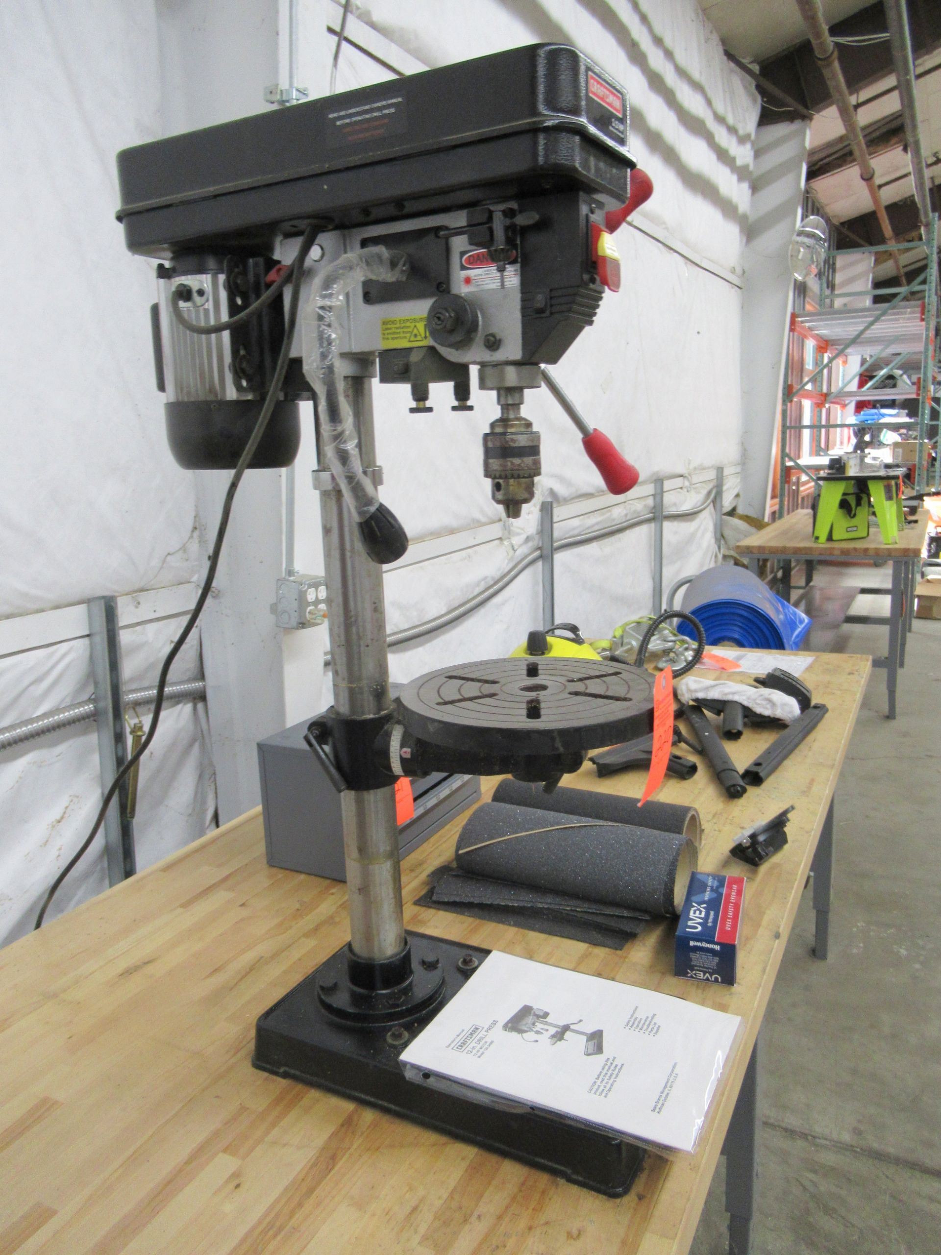 """Lot 220 - Craftsman 34985 12"""" Drill Press with Laser"""