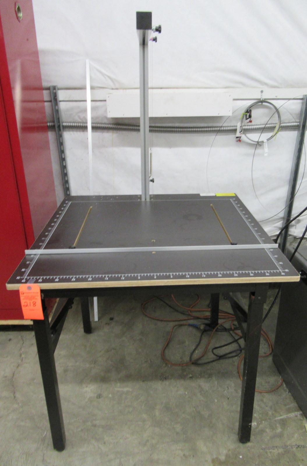Lot 218 - Desktop Hot Wire Foam Cutting Machine Table 100V - 120V