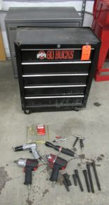 Lot 212 - Craftsman, Ingersol Rand Tool Boxes & Tools