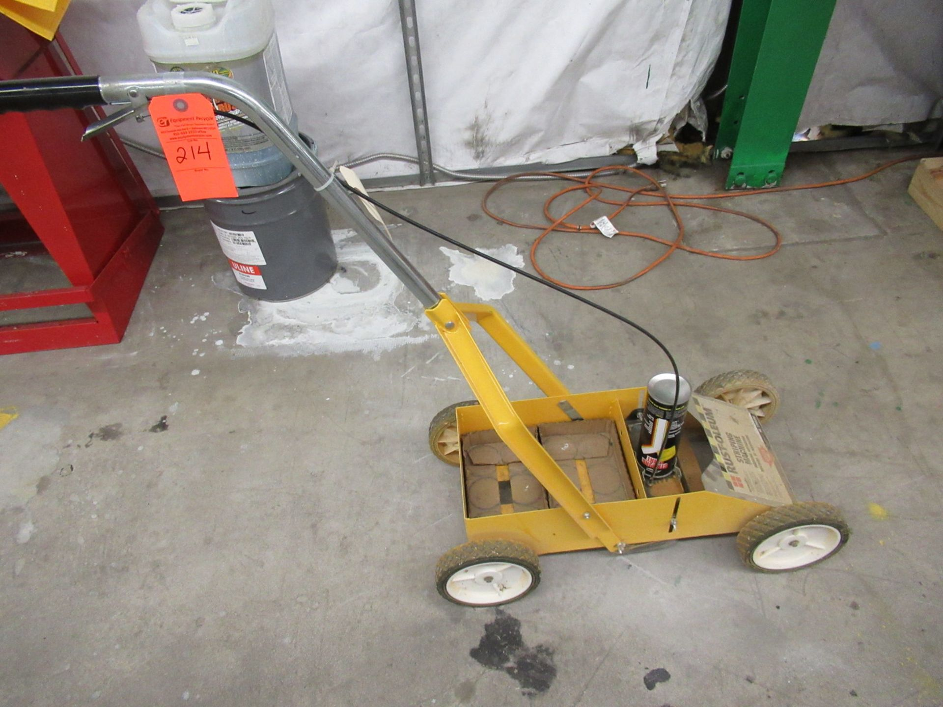 Lot 214 - Rustoleum 2395000 Striping Machine
