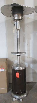 Lot 202 - Uline H-5839 Bronze Patio Heater