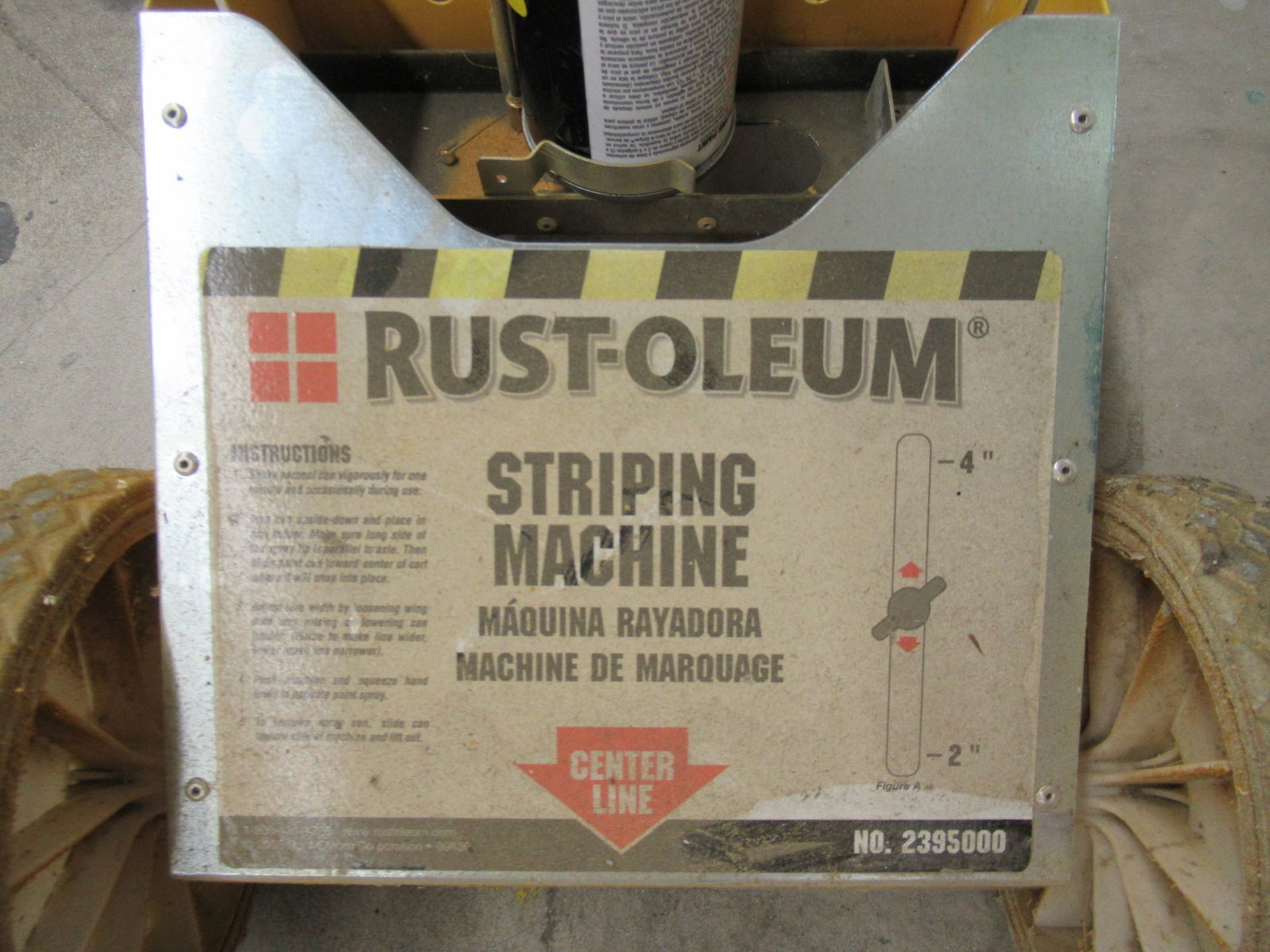 Lot 214 - Rustoleum 2395000 Striping Machine