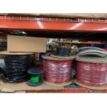 Assorted Reels & Spools of Copper Wire