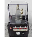 Small Enclosed, Timed, Pneumatic Press - Gilroy