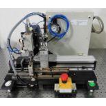 Automated Pneumatic Punch Assembly w/Direct Logic 205 PLC -