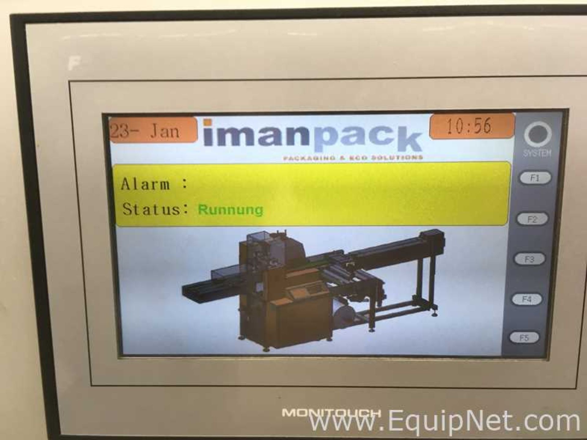 Lot 121 - Imanpack Flow Wrapper