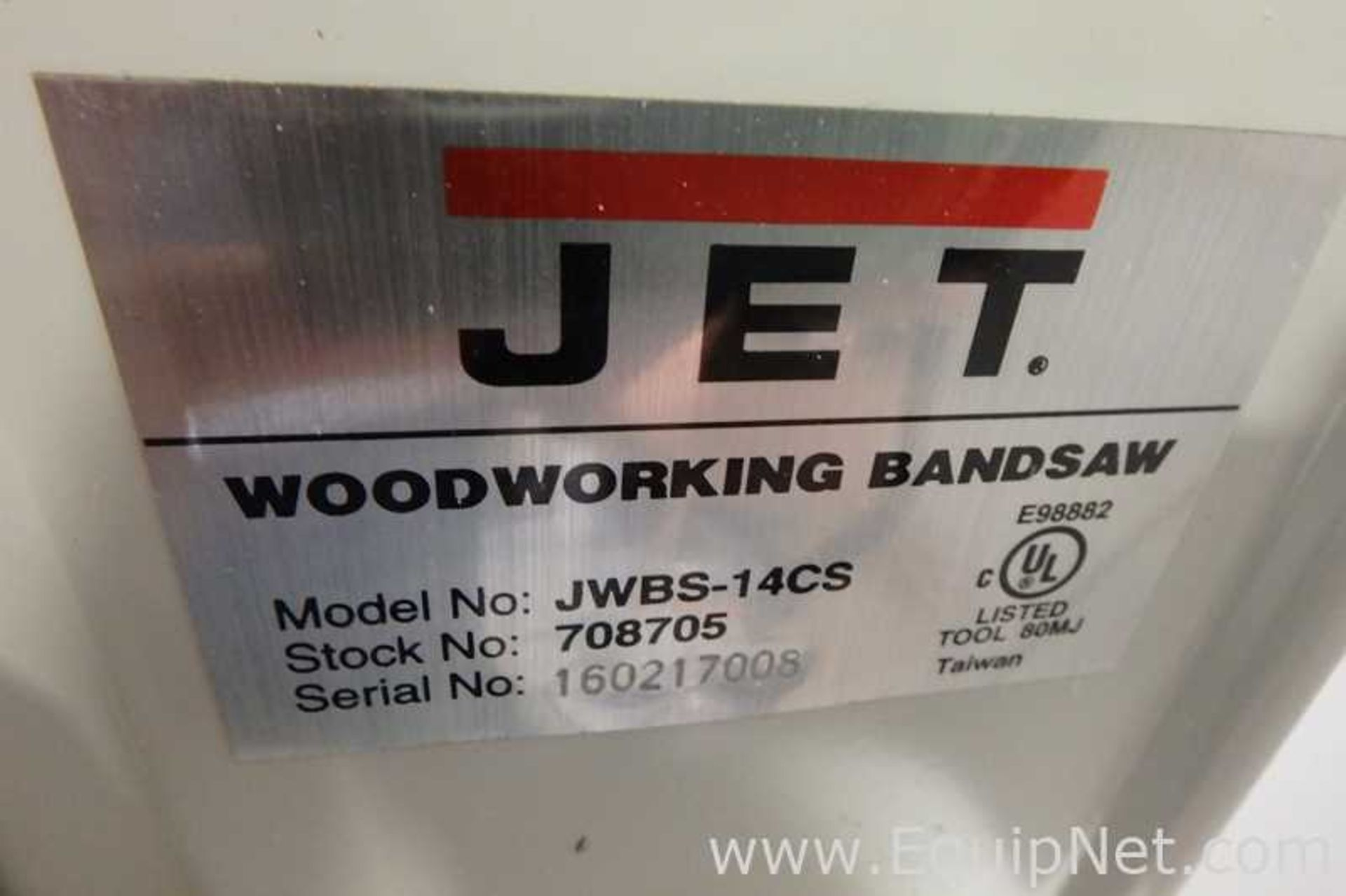 Lot 35 - Jet JWBS-14CS Band Saw