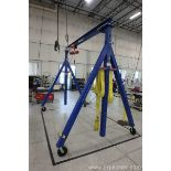 Lot 49 - Global Industrial Gantry Crane with 2 Ton A-Frame