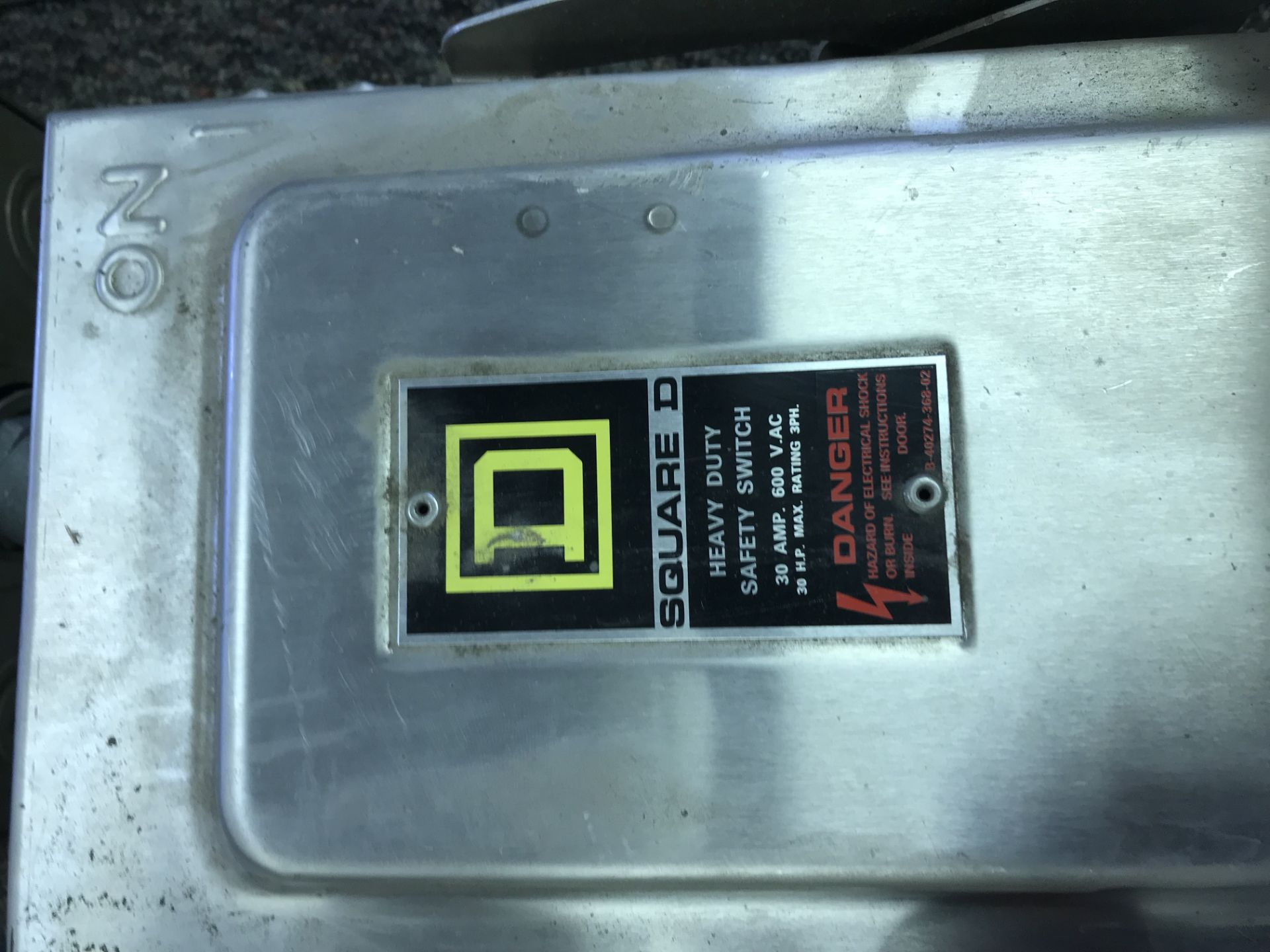 Lot 10 - Lot of 4 Square D Safety Switches