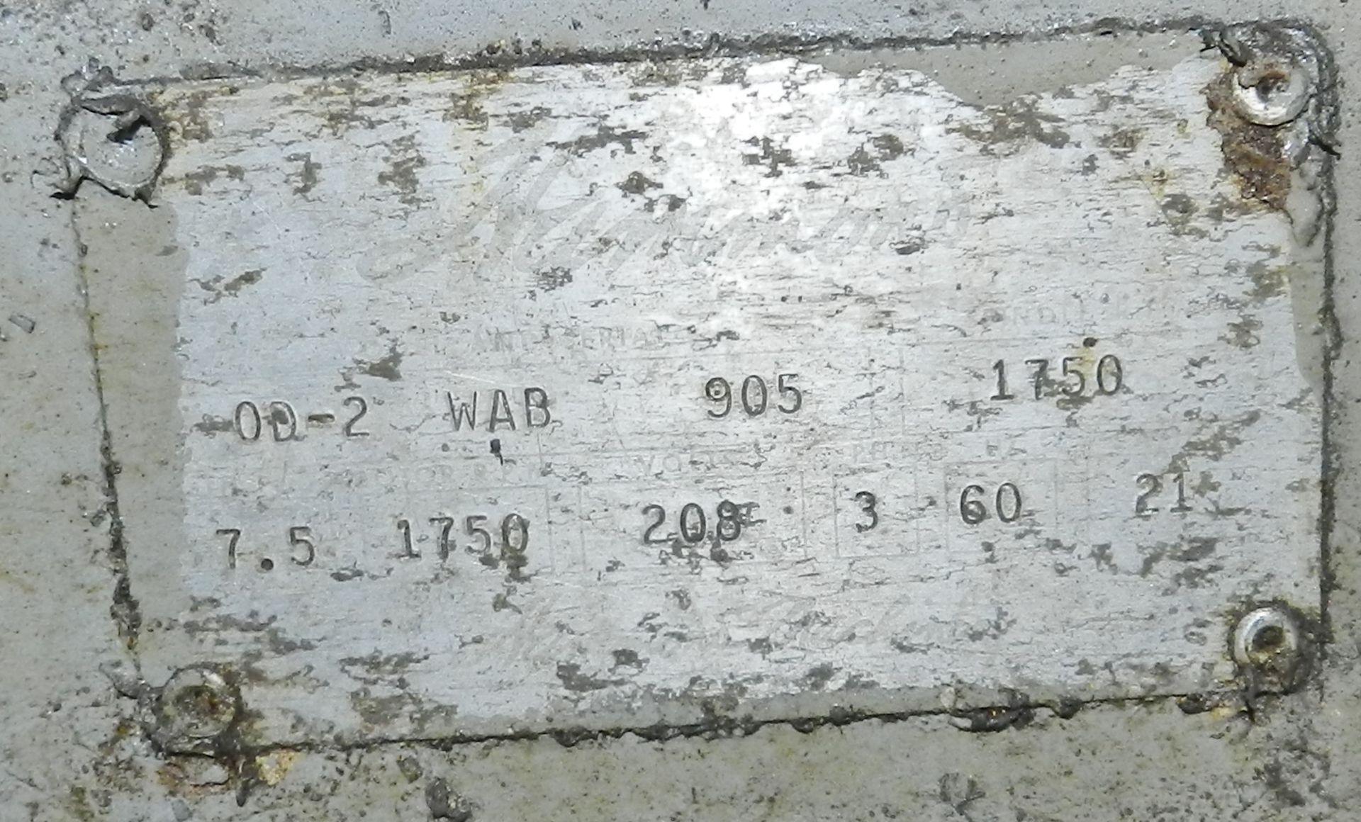 Lot 59 - Hammond OD-2 WAB Cylindrical OD Finisher