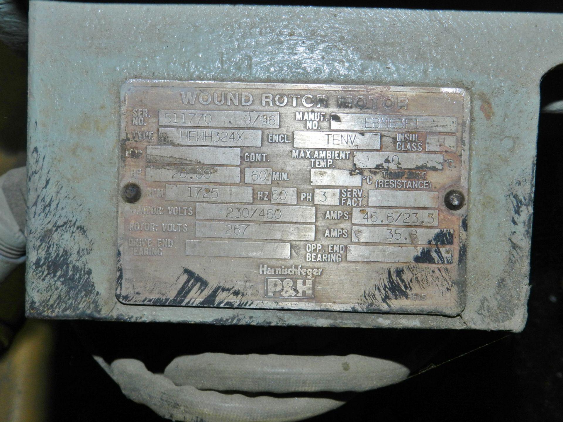 Lot 42 - P & H 5 Ton Hoist N44EJ43G