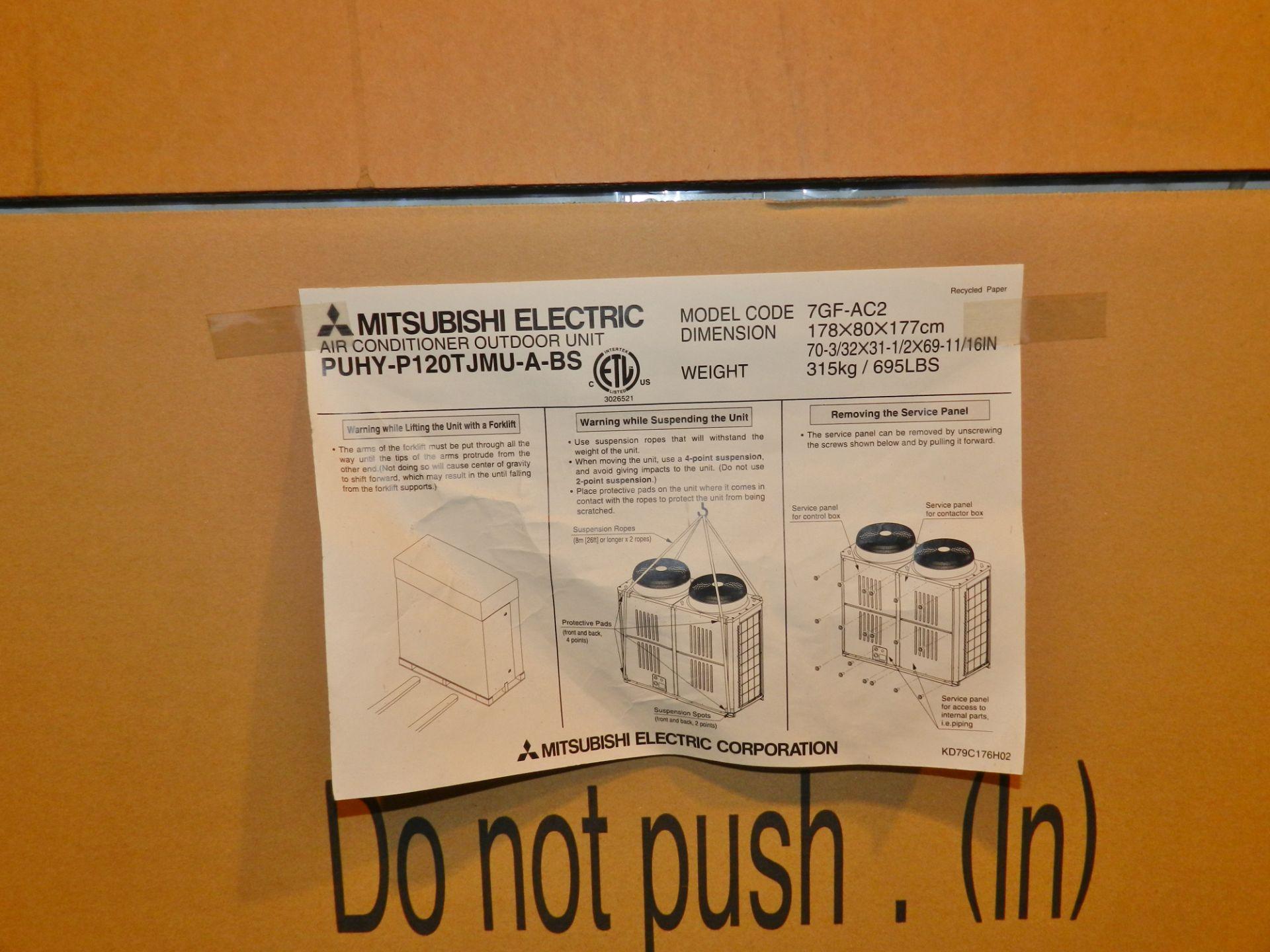Lot 27 - Mitsubishi 10 Ton Air Conditioner Outdoor Unit PUHY-P120TJMU-A-BS