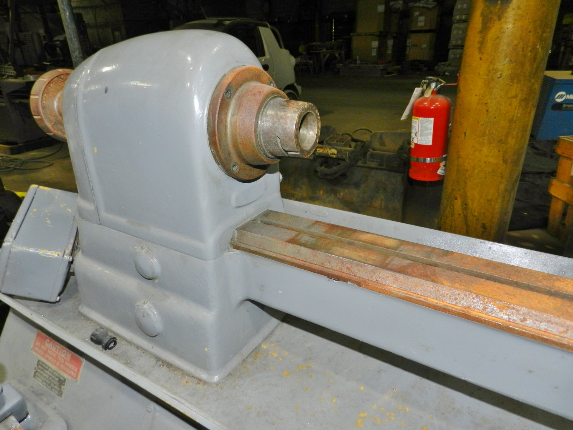 "Lot 57 - Elgin 9"" x 16"" Lathe"