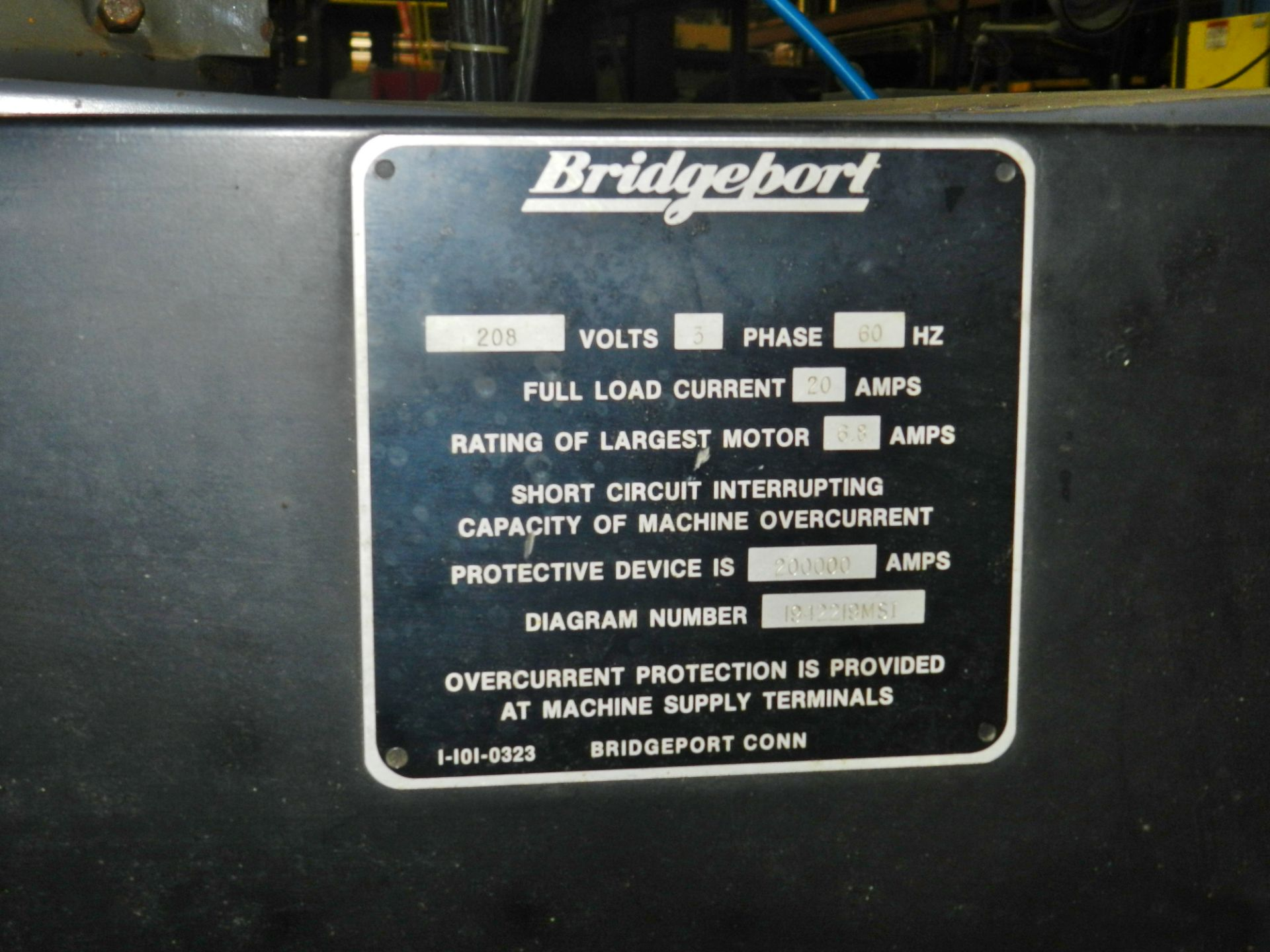 Lot 55 - Bridgeport V2XT 3 Axis Milling Machine