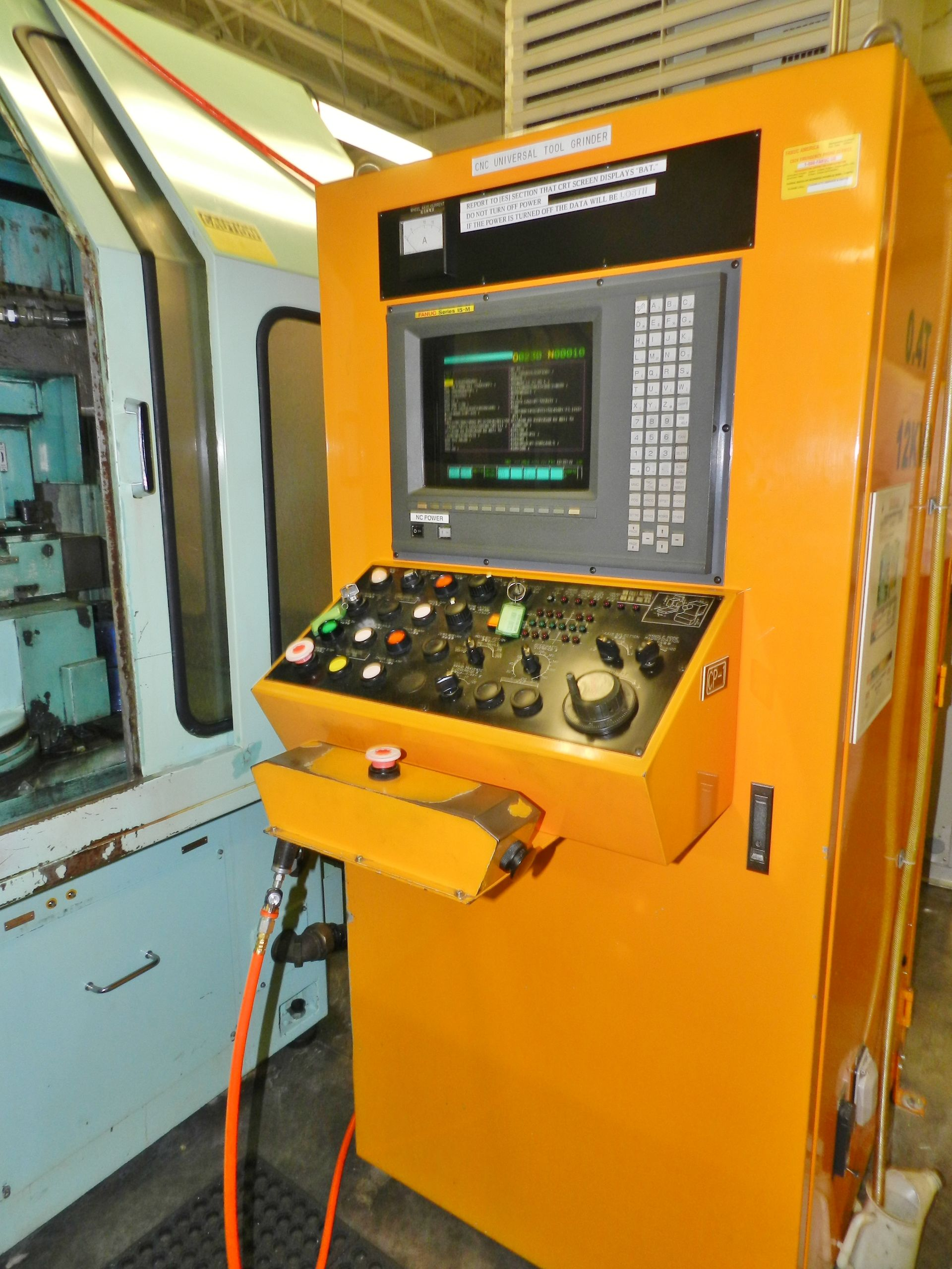Lot 38 - UTSUNOMIYA SEISAKUSHO Co 6 Axis CNC Tool Cutter Machine UTG150-15M Fanuc Control