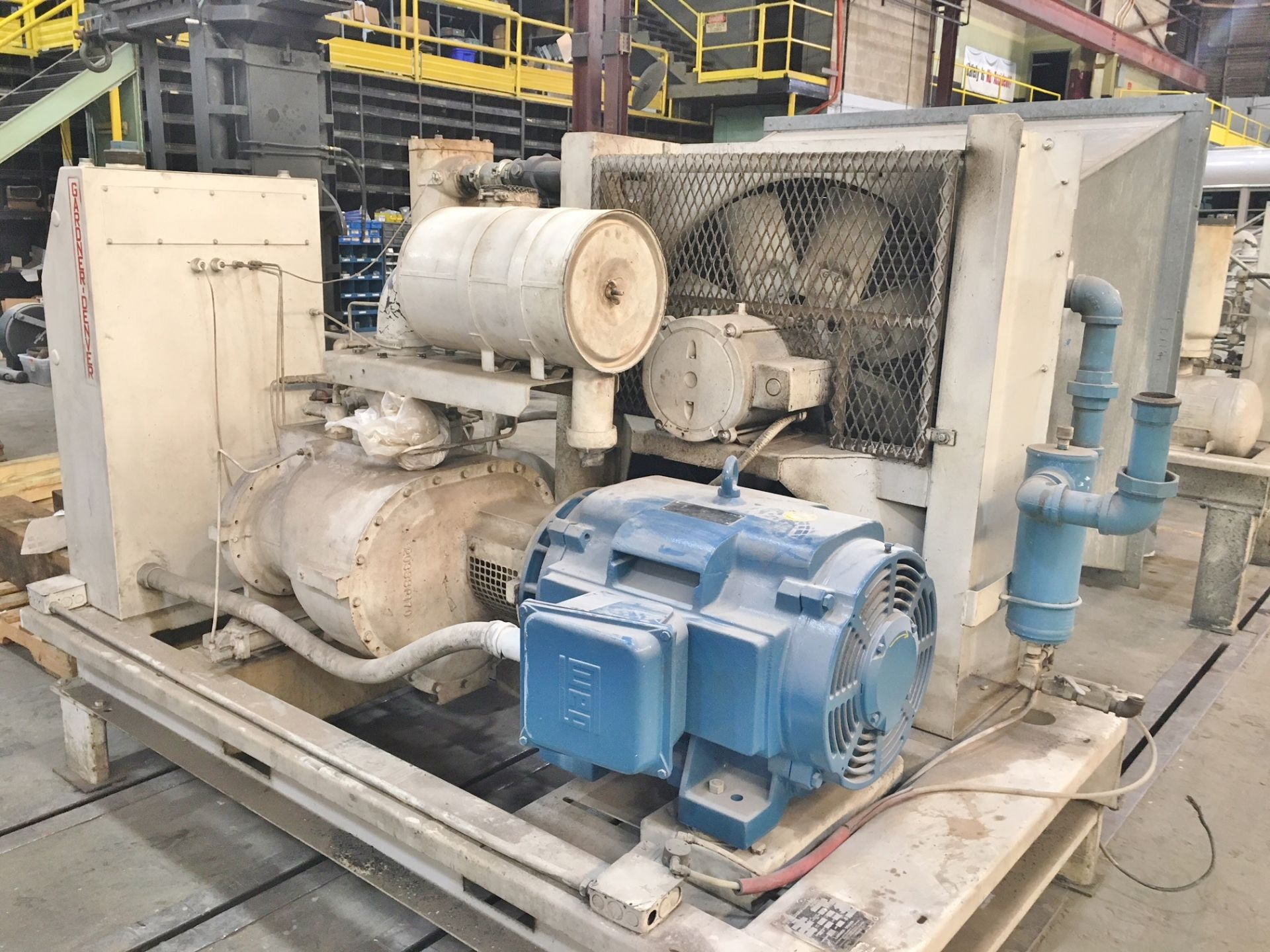 Lot 29 - Gardner Denver EAPQMC 100 HP Air Compressor