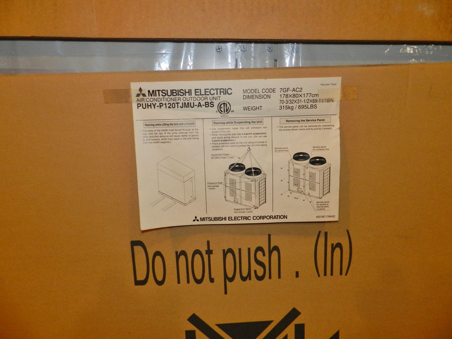Lot 25 - Mitsubishi 10 Ton Air Conditioner Outdoor Unit PUHY-P120TJMU-A-BS