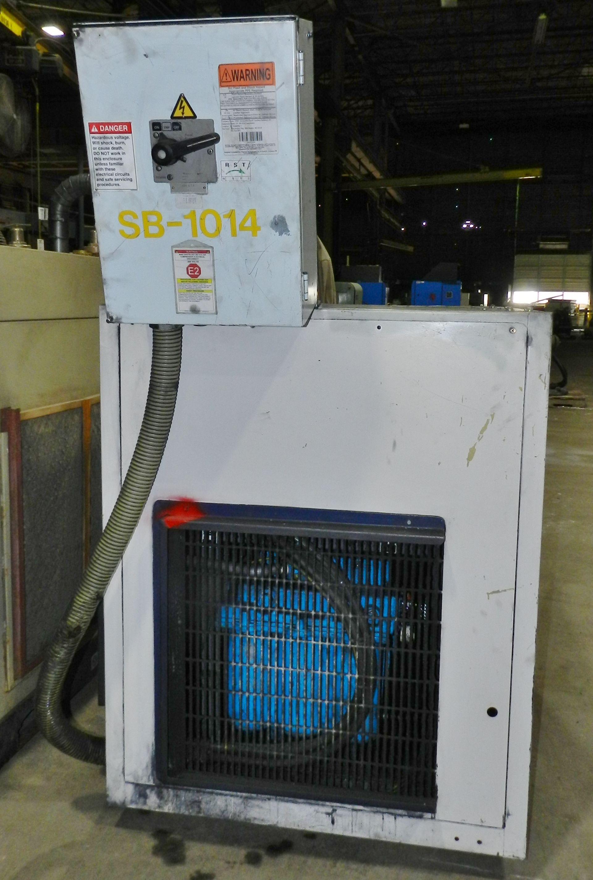 Lot 30 - Hydrovane 37 KW Rotary Vane Air Compressor KR 506 DE