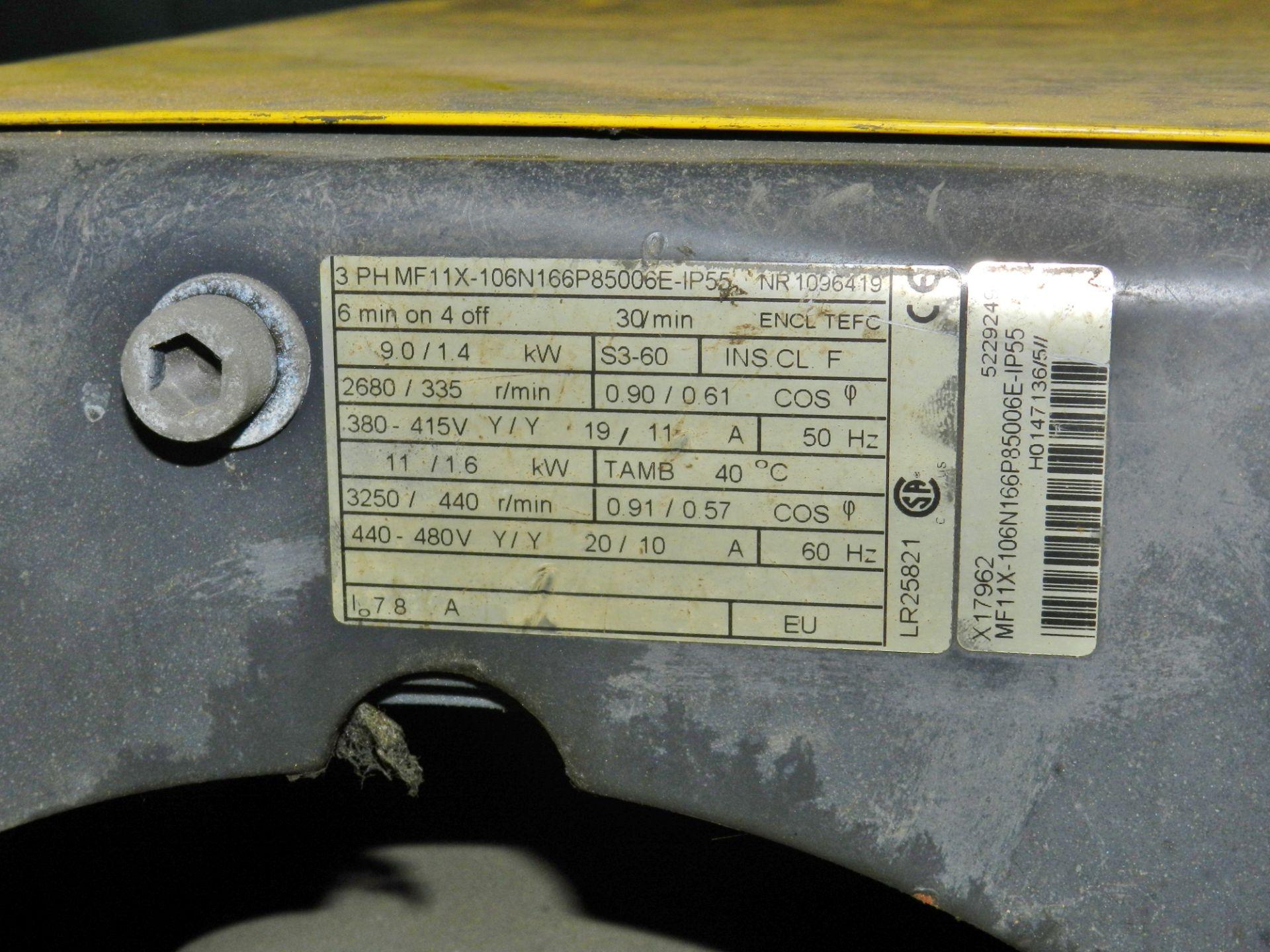 Lot 44 - R&M SpaceMaster SX 10 Ton Wire Rope Hoist SX50410100P55EDD0S