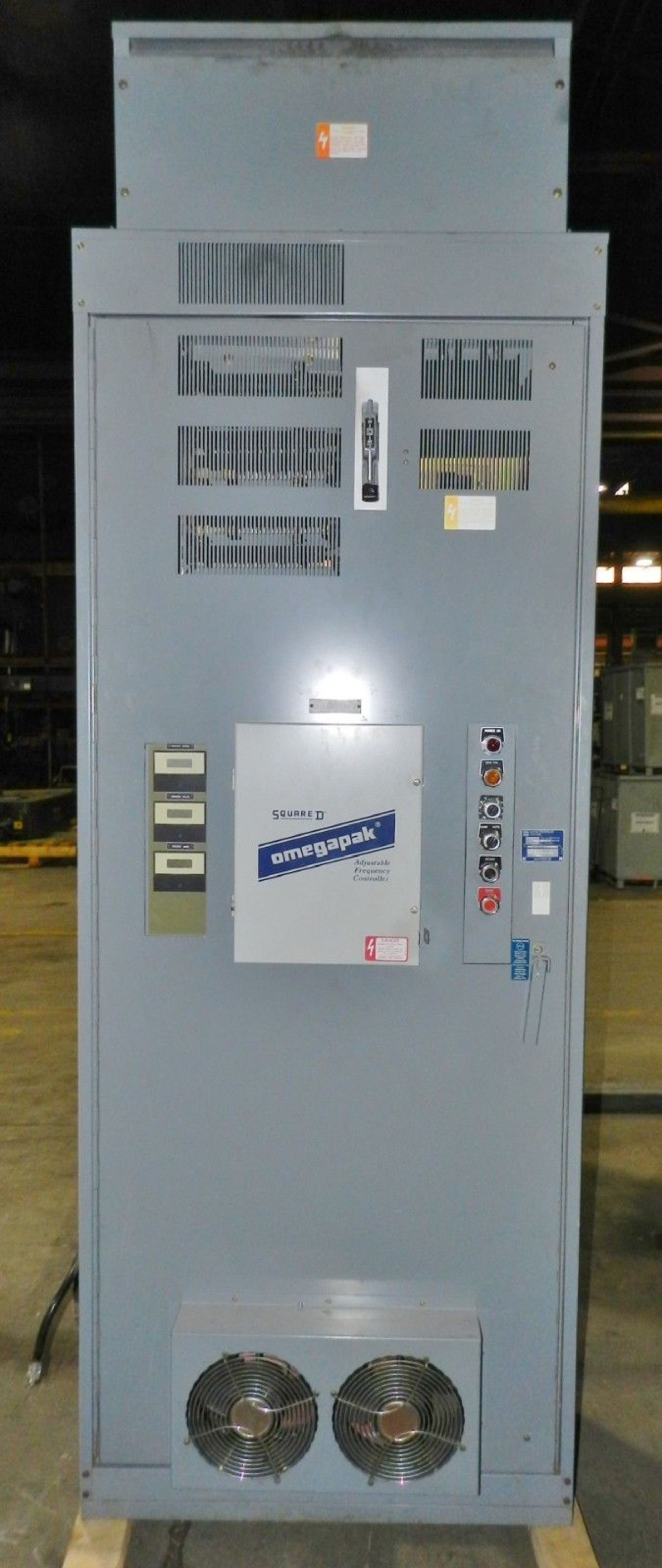 Lot 15 - Square D Omegapak 300 HP Adjustable Frequency Controller