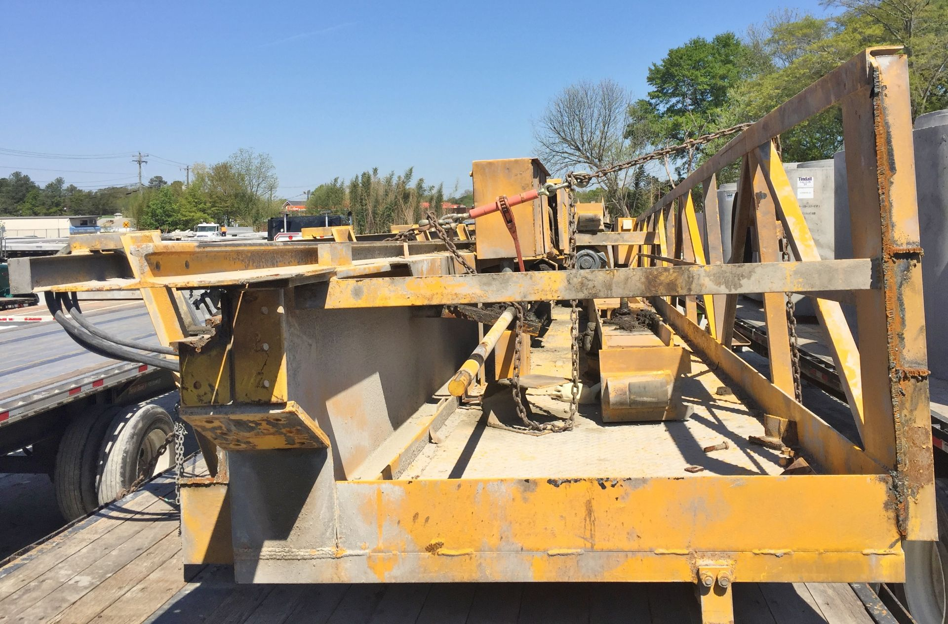 Lot 39 - P & H 5 Ton Bridge Crane 48' Span