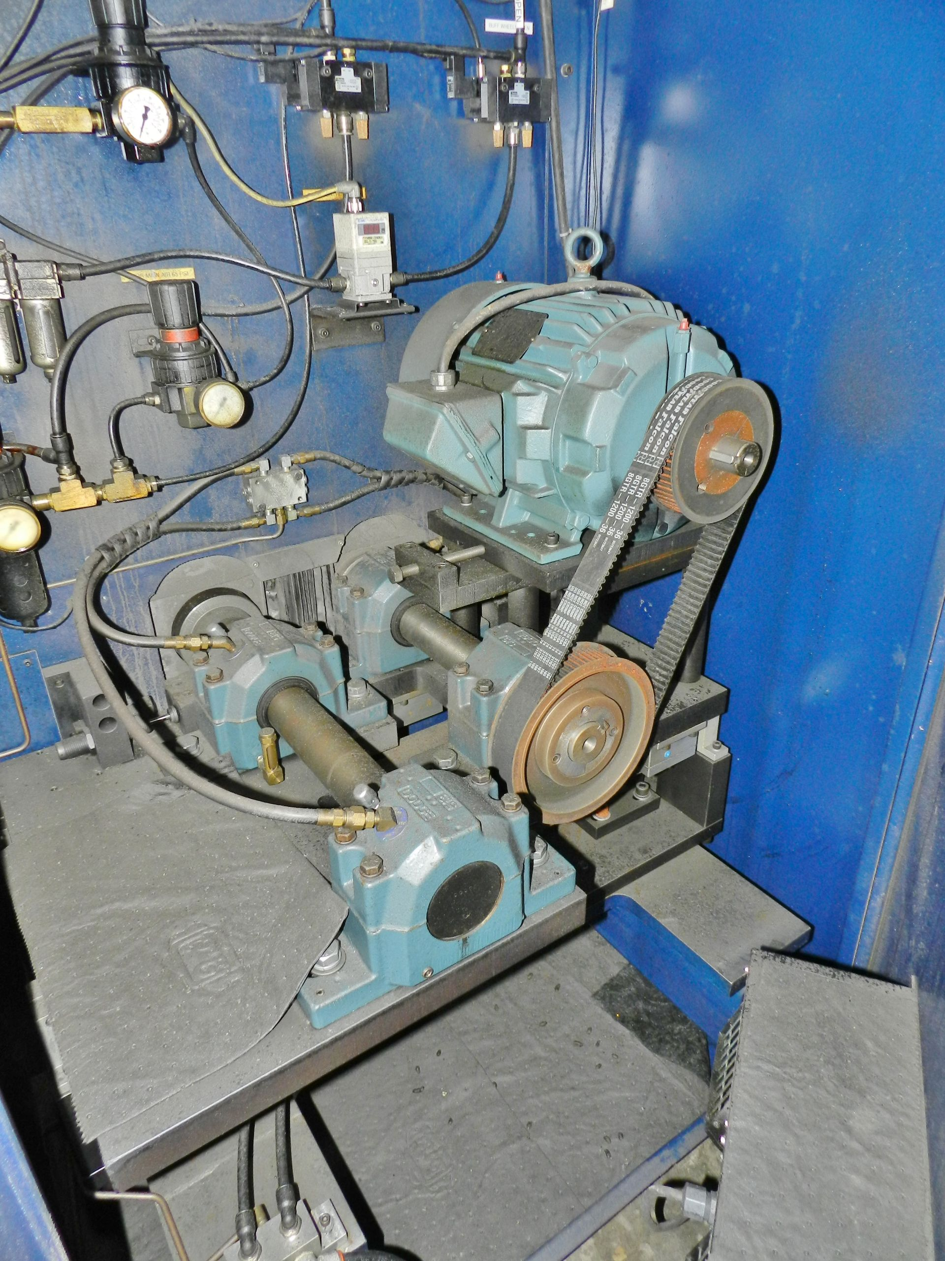 Lot 62 - Mitchell Autobuff Buffing/Grinding/Deburring Machine