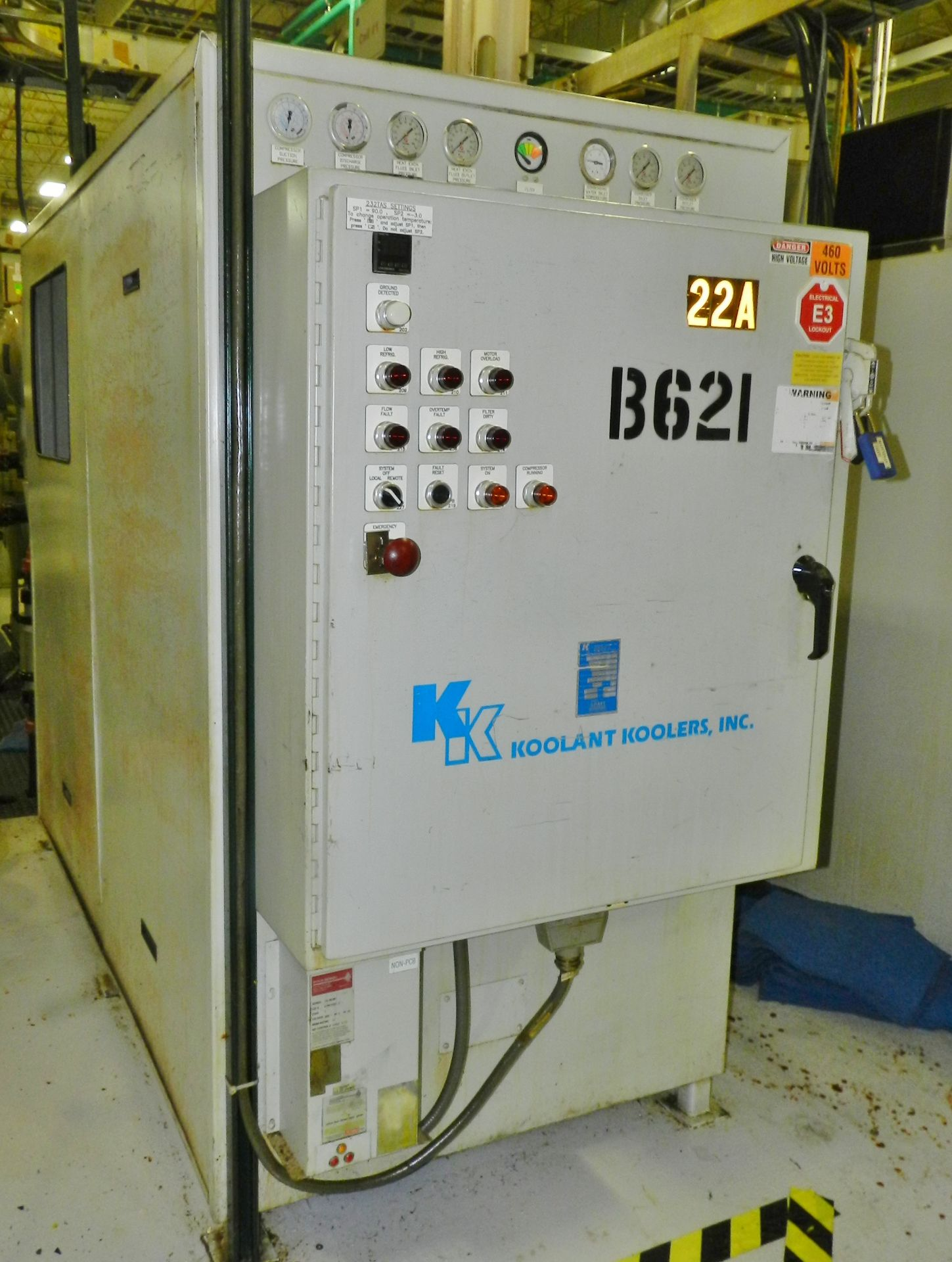 Lot 21 - Koolant Koolers 14 Ton Chiller HAW 15,000-SO-FILT-A