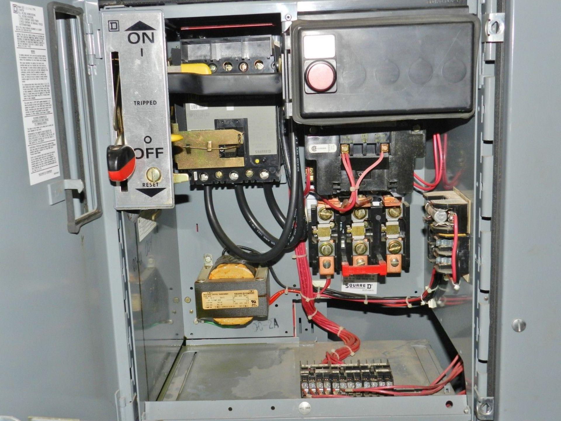 Lot 14 - Square D Model 5 Motor Control Center 2000 Amp Breaker