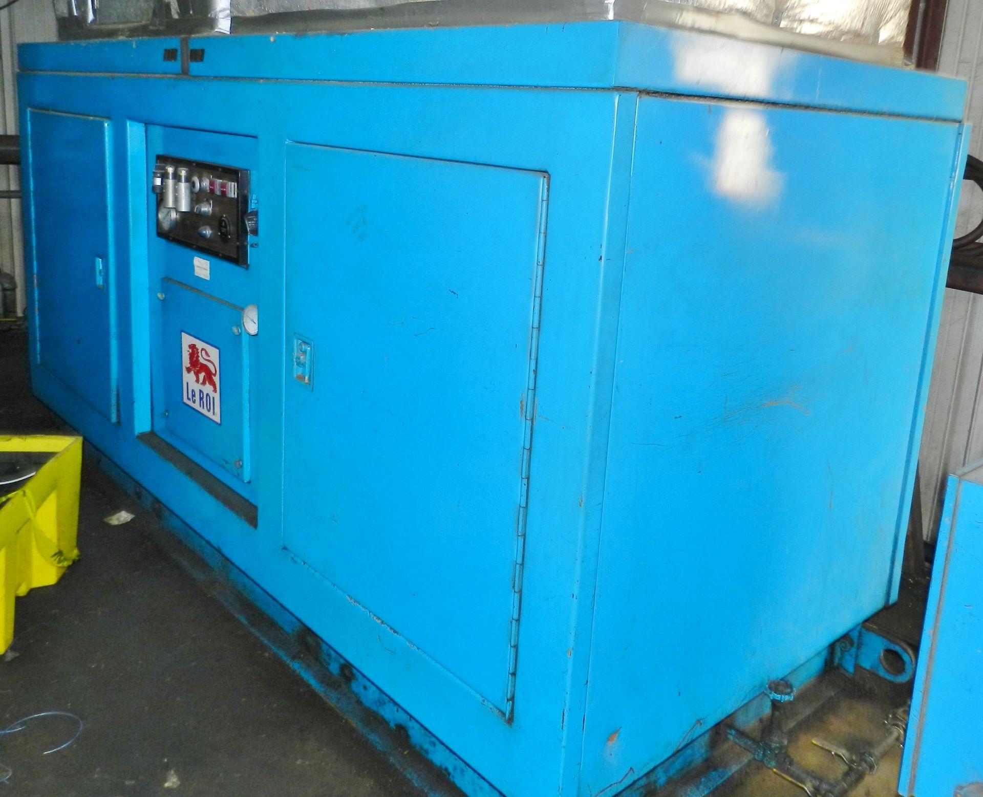 Lot 27 - Leroi Dresser 100 HP Rotary Air Compressor