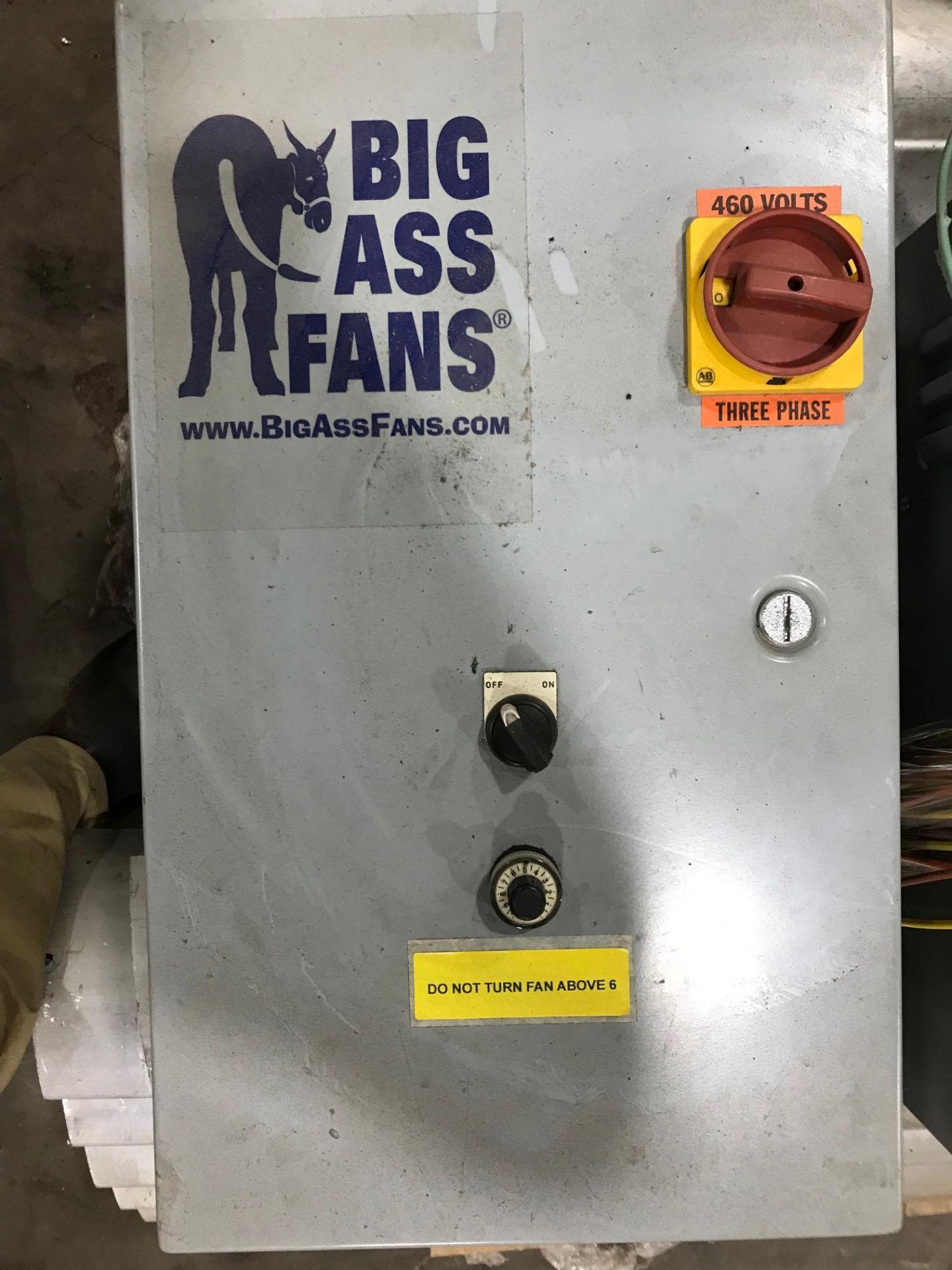 Lot 38 - 24 Ft Industrial Fan - Big Ass Fans