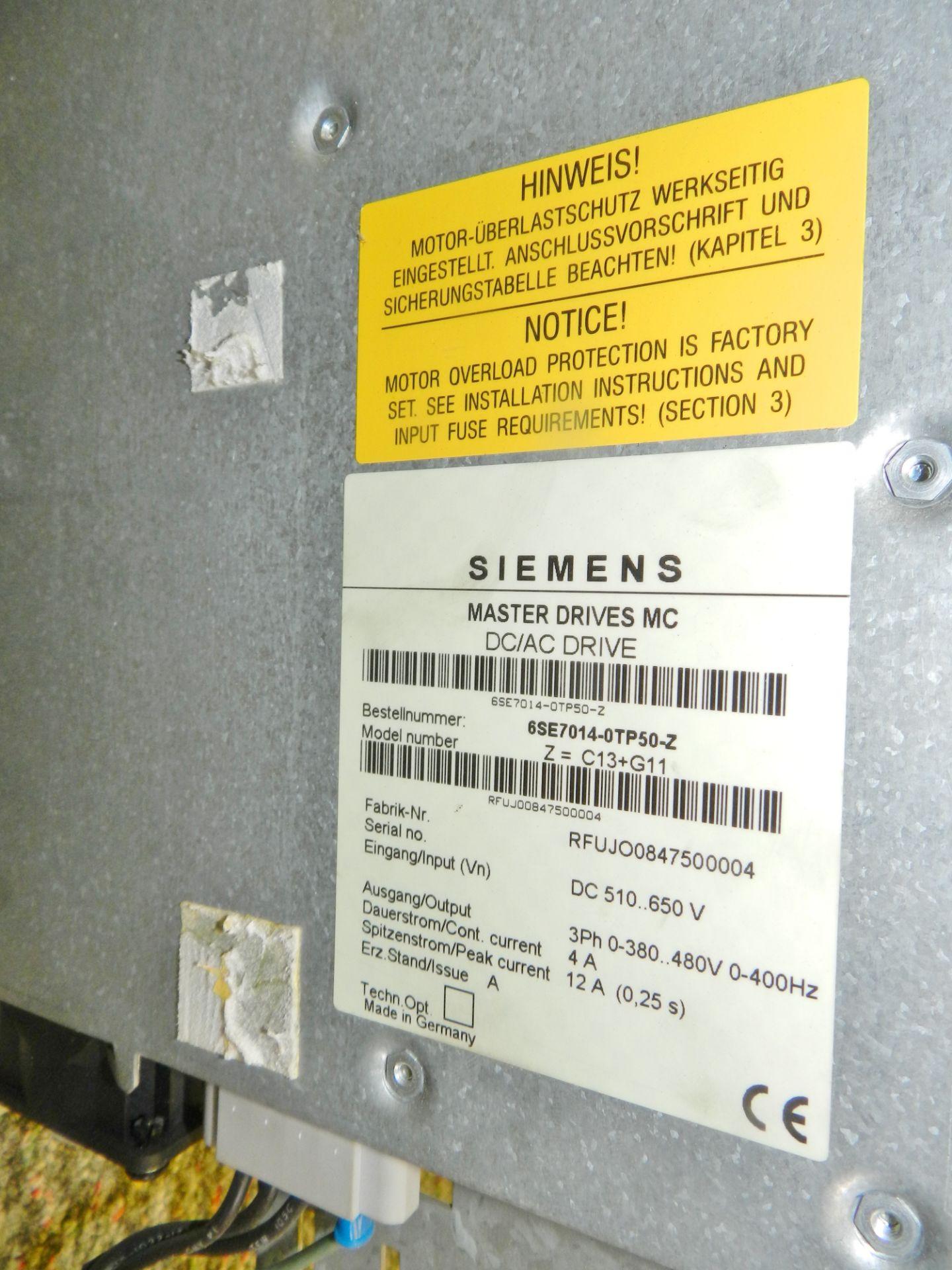 Lot 55 - Lot of 3 Siemens Master Drive