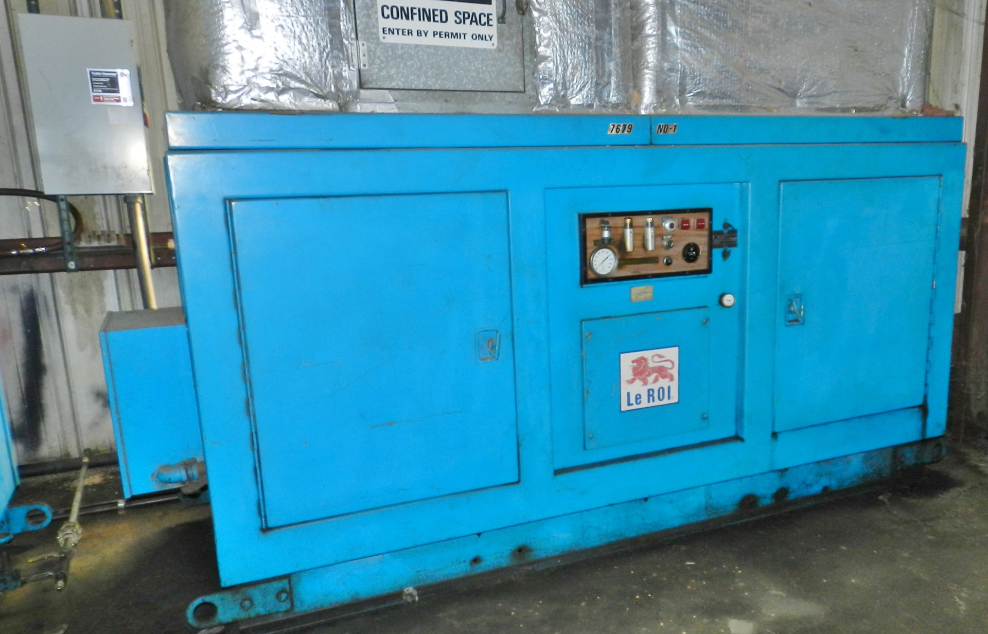 Lot 26 - Leroi Dresser 100 HP Rotary Air Compressor