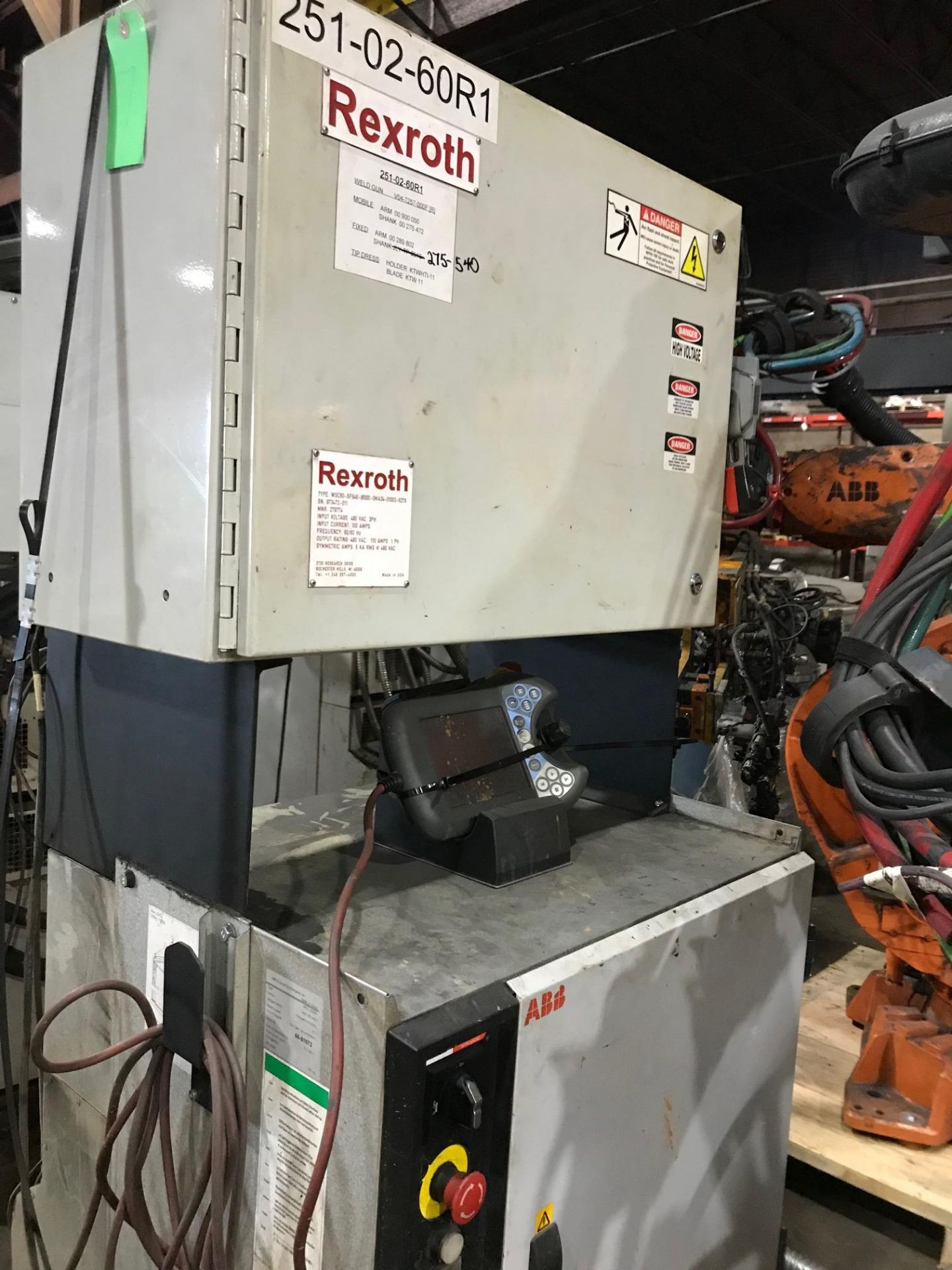 Lot 6 - 2011 - ABB - IRB6640 M2004 235/2.55 - IRC5 Controller