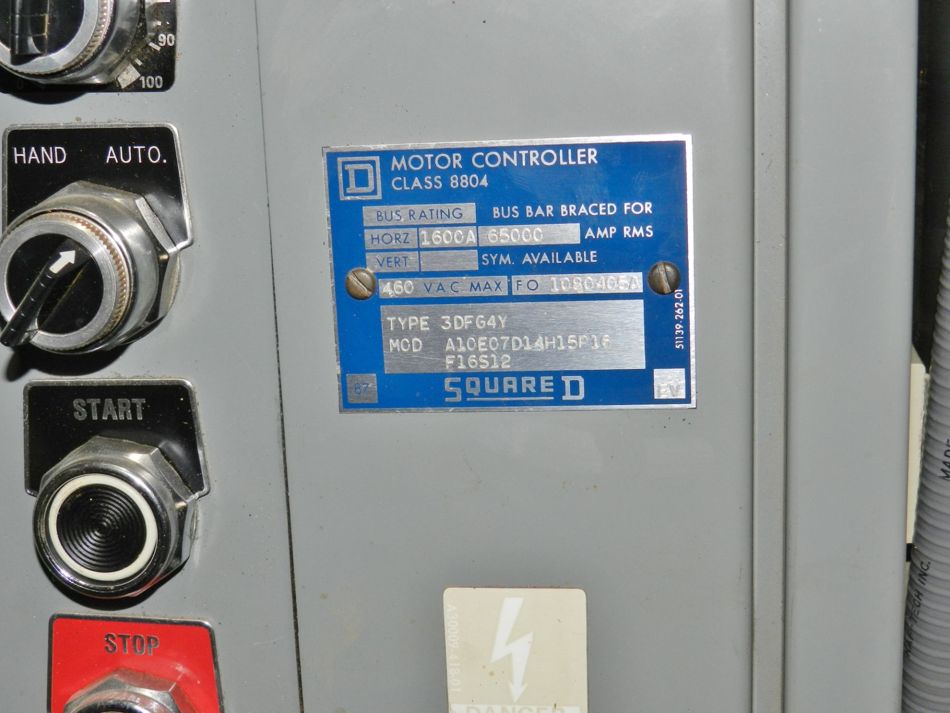 Lot 58 - Lot of 2 Square D 300 HP Adjustable Frequency Controller
