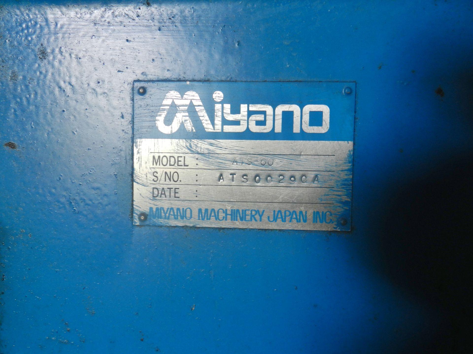 Lot 32 - Miyano ATS-60 CNC Turning Center