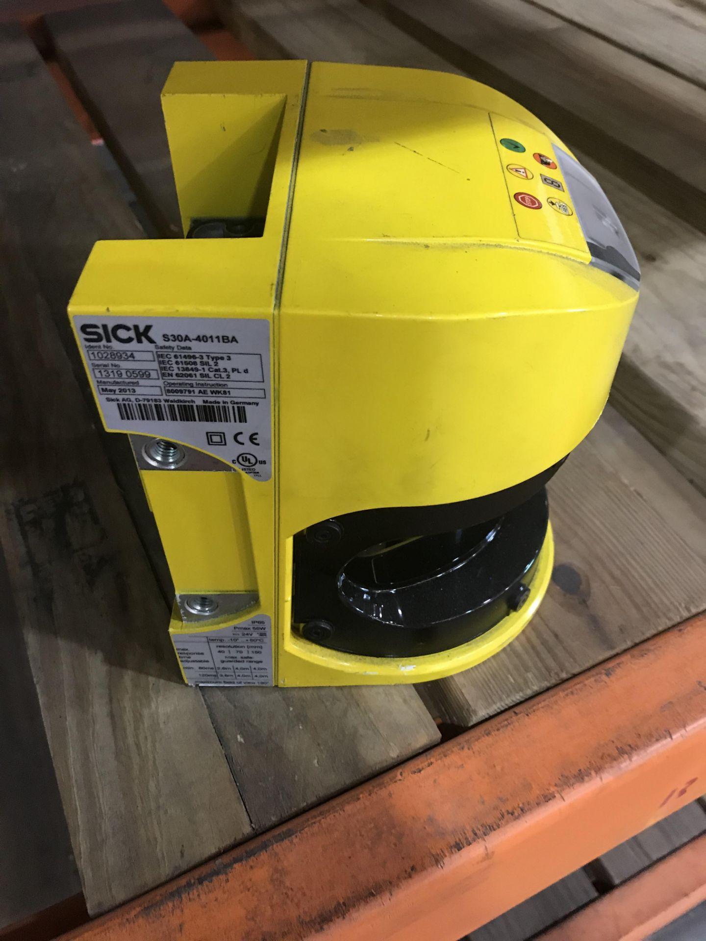 Lot 59 - Lot of 4 2013 SICK S30A-4011BA Laser Sensors