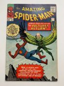 SPIDER-MAN #7 (1963 - MARVEL) VFN- (Pence Copy) - The second appearance of the Vulture. Steve