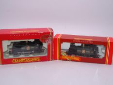 "OO GAUGE - HORNBY - A pair of R173 GWR ""150"" 0-4-0"