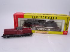 HO GAUGE - A Pair of FLEISCHMANN German locomotive